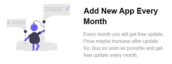 BigKit - Biggest Flutter App Template Kit - 11 Apps (Add 1 App Every Month) - 1