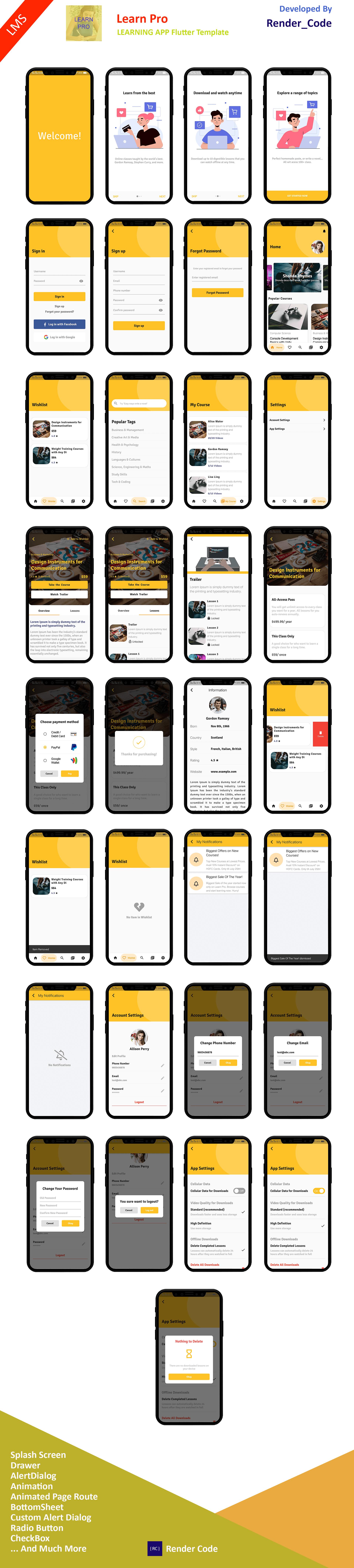 StunningKit - Biggest Flutter App Template Kit (15 App Template) - 10