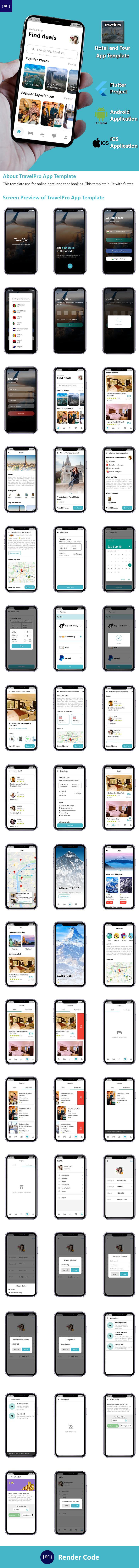 StunningKit - Biggest Flutter App Template Kit (15 App Template) - 2